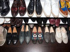 I totally want a collection of Christian Louboutin men's shoes.  Brad Goreski's shoes.