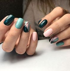 30 Best Nails Highlight Colors Special Design For Winter 2018
