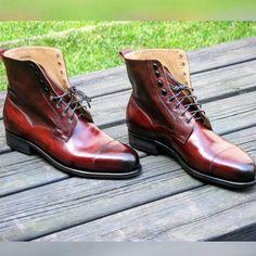 Location: Sweden Vass Model: Derby ToeCap High boots Colour: Please Ask Niklas  Last: New Peter Last