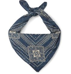 RRL Printed Cotton Scarf | MR PORTER