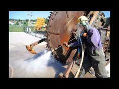 Baumaschinen Reinigen HDW Strahlen   http://www.ito-germany.de/video