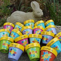 Kids seed planting party favors...perfect for Spring and Summer birthday favors! Order early. Kids LOVE them!
