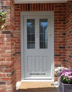 victorian front doors, edwardian doors, georgian doors, bespoke doors The Effective Pictures We Offer You About victorian french doors A quality picture can tell you many things. Grey Composite Front Door, Grey Front Doors, Painted Front Doors, Front Door Colors, Cottage Front Doors, Victorian Front Doors, Front Door Porch, House Front Door, Georgian Doors