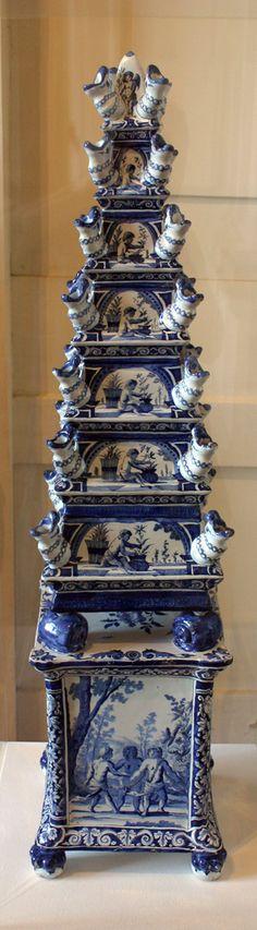 Dutch Tulipiere Vase.