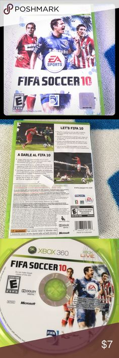 Selling this FIFA Soccer 10 on Poshmark! My username is: icesis22. #shopmycloset #poshmark #fashion #shopping #style #forsale #Xbox 360 #Other