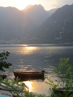Lake D'Idro, Italy The beauty of nature! www.bestbuddyfishing.com #fishingspots #outdoors #fishing