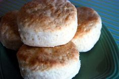Easy Cream Biscuits. These are so soft and fluffy and have excellent flavor!