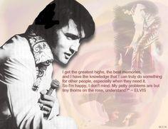 Elvis Quote....