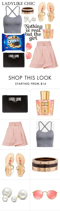 """""""simple"""" by lialicious on Polyvore featuring Givenchy, Acqua di Parma, Balenciaga, Lilly Pulitzer, Cartier, Allurez and Ray-Ban"""