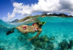 Clichés en eaux claires Photo