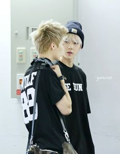 exo sehun and luhan