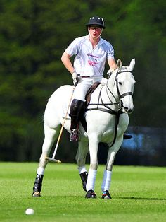 Prince Harry playing polo...does it get any better??