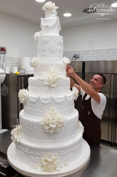 Pretty Cakes, Beautiful Cakes, Amazing Cakes, Wedding Cake Designs, Wedding Cakes, Bolo Grande, Our Wedding, Dream Wedding, Couture Cakes