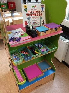 Juf Anke - Spel & Spelen kleuters Montessori Classroom, Kindergarten Classroom, Small Office Organization, Preschool Centers, Games For Toddlers, Classroom Design, Creative Play, School Teacher, Early Childhood