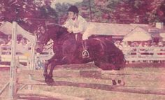 Puddy Jones on Gwyned delight at Devon 1962..Looks like my Trix, seriously..COOOL, cool old photo, of one of my favorite subjects..horse shows in the past. Time travel machine..take me awaaaay!!
