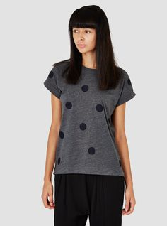 Scatterspot Tee Charcoal & Navy