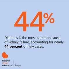 Did you know that diabetes is the leading cause of kidney failure? Throughout the month of November we will be highlighting #DiabetesMonth to help us raise awareness. Stay tuned each day for a fact or tip on how to prevent or manage diabetes and help spread the word!