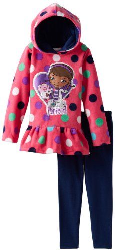Disney Little Girls' Doc Mcstuffins 2 Pieced Polka Dot Pulloverhood and Pant, Pink, 6 Disney http://www.amazon.com/dp/B00D4KH1IW/ref=cm_sw_r_pi_dp_PUDMub1CB305J