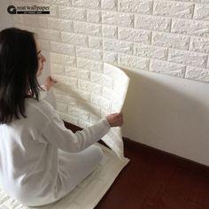 3D wall stickers wall brick pattern self-adhesive wallpaper