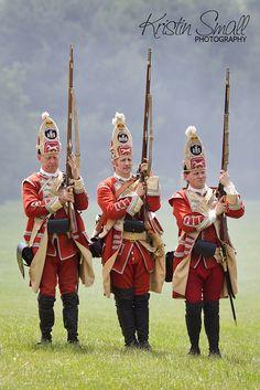 French-and-Indian War Battle.  Fort #4 Charlestown, NH.    #frenchandindianwar #frenchandindian #7yearwar #fort #fort4 #fort4charlestown #british #french #indians #reenactment #battle #war #costume #history #ushistory #redcoats #scots #scottish #highlander #highlanders #guns #musket #livinghistory #americanhistory #period #newhampshire #newengland #charlestownnh #historymuseum #kristinsmallphotography