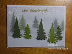 BastelparadiesAppen: Video # 25 Winterlandschaft