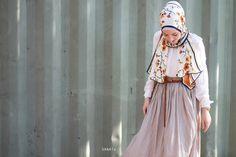 hijab fashion muslim woman skirt