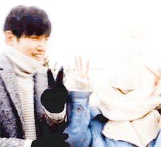 Ji Chang Wook and Park Min Young Healer BTS