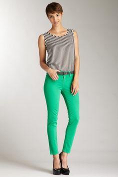 love the green pants
