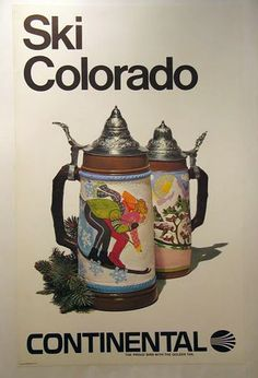 Travel US Colorado Ski Poster
