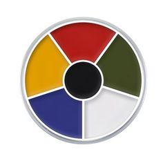 Cream color circle: Maquillaje cremoso en presentación de cinco colores.