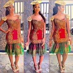 Checkout These Classy And Up-to-Date Ankara Styles; You Would Be Glad You Did - Wedding Digest Naija Ghana Fashion, African Fashion, Ghana Mode, South African Traditional Dresses, Ankara Stil, Ankara Fabric, African Design, African Dress, Casual Wear