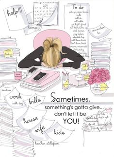 Nursing Quotes Inspirational Discover Somethings Gotta Give - Heather Stillufsen - Motivational Quotes - Heather Stillufsen Quotes Motivational Quotes For Women, Positive Quotes, Inspirational Quotes, Illustration Mignonne, Something's Gotta Give, Mental Break, Buch Design, Peace Quotes, New Print