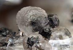 Fluorite - Kugelfluorit Clara Mine, Rankach valley, Oberwolfach, Wolfach, Black Forest, Baden-Württemberg, Germany Copyright © Stoya