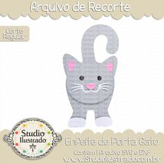 Enfeite de Porta Gato, enfeite, porta, gato, gatinho, gatinho fofo, cute, cat, kitty, kitty cat, baby cat, baby, bebê, cartão, borboleta, butterfly card, butterfly, flores, primavera, flourish, florido, spring, card, arquivo de recorte, corte regular, regular cut, svg, dxf, png, Studio Ilustrado, Silhouette, cutting file, cutting, cricut, scan n cut.