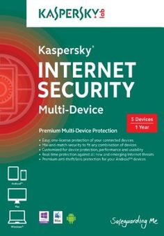 Kaspersky Internet Security Multi-Device, 1 Year [Online Code] - http://www.xeonsoft.net/computer-security/antivirus/kaspersky-internet-security-multidevice-1-year-online-code-com/