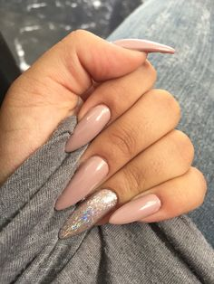 ☒ the rise of a king and the fall of a queen ☒ Nude Nails, Stiletto Nails, Acrylic Nails, Gel Nails, Gorgeous Nails, Pretty Nails, Nail Ring, Nail Art, Nails On Fleek