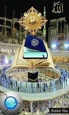 Islamic Wallpaper Hd, Mecca Wallpaper, Quran Wallpaper, Muslim Images, Islamic Images, Islamic Pictures, Religious Photos, Beautiful Names Of Allah, Islamic Cartoon