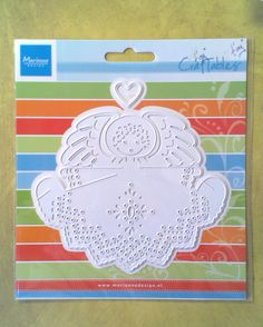 Marianne Craftables Angel with Heart Dies Set - suits most machines - Christmas