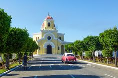 Church at Cristobal Colon Cemetery, Havana, Cuba by abaesel, via Flickr