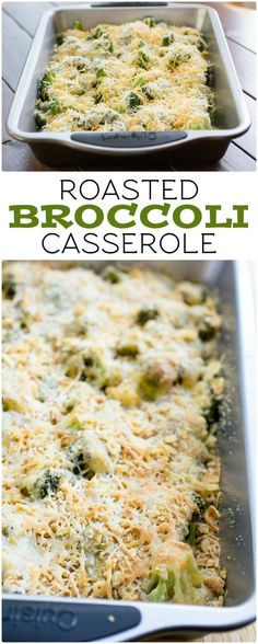 Roasted Broccoli Casserole I www.orwhateveryoudo.com I #recipe #cooking