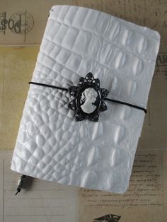 Hand crafted leather Traveler's Style refillable Notebook in Field Notes size on Etsy, $33.73