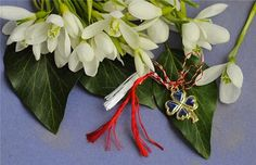"""A goodluck """"martisor"""" for the first day of spring First Day Of Spring, Day Book, 8 Martie, Winter Time, Like4like, Romania, Image Search, Charms, Success"""