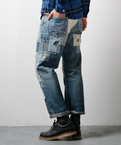ORIGIN CASE STUDY 18 Workwear Fashion, Denim Fashion, Hipster, Edwin Jeans, Tailor Shop, Patchwork Jeans, Pants, Case Study, Work Wear