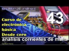 curso de electronica basica desde cero( # 43 análisis corrientes de malla) - YouTube