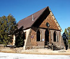 Methodist Church (circa 1898) was funded by Hearsts and associated with Phebe Hearst, the mother of the magnate William Randolph Hearst Jr. ( born 1863, died1951).The Church was built 14 years before New Mexico became a State.The Hearst family spent time in the area near Silver City. The family owned the Hearst gold mines near Pinos Altos, the gold was used between 1922 and 1939 in the construction of the well-known Hearst Castle Estate in San Simeon, California was mined in their gold…