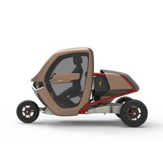 Electric Car Concept, Electric Cars, Car Alignment, Homemade Go Kart, Mini Jeep, Velo Cargo, Tricycle Bike, Fast Sports Cars, Concept Motorcycles
