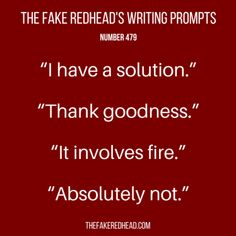 TFR's Writing Prompt 479