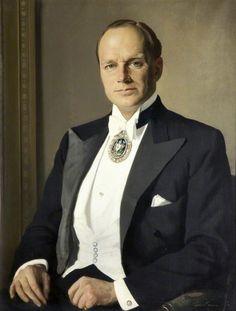 Sir Herbert James Gunn  —  Hugh William Osbert, 7th Earl of Sefton,1945: National Museums Liverpool.