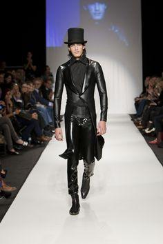 Leather tux. #leatherluxury #dashingdrama #Zappos