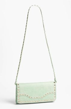 Arm candy: mint + gold crossbody.